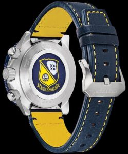 back of blue angels skyhawk watch