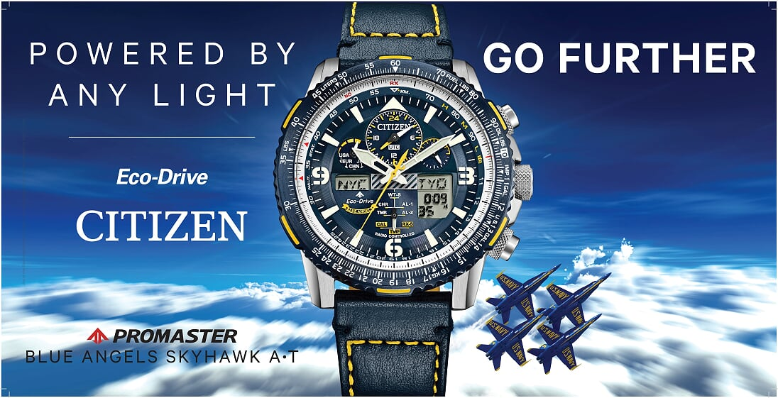 Blue Angels Skyhawk watch