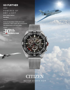 Citizen watch for a man