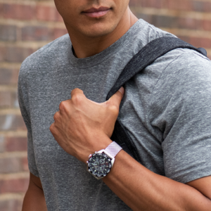 Man wearing citizen watch